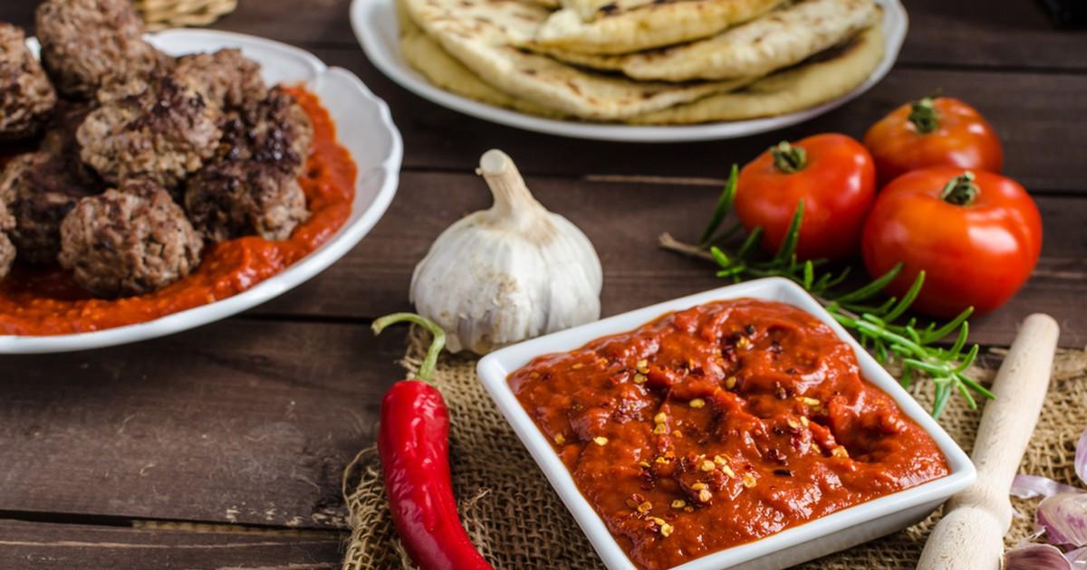 Фото Грузинский томатный соус
