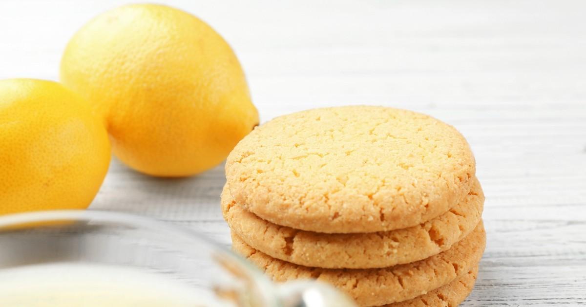 Фото Домашнее лимонное печенье