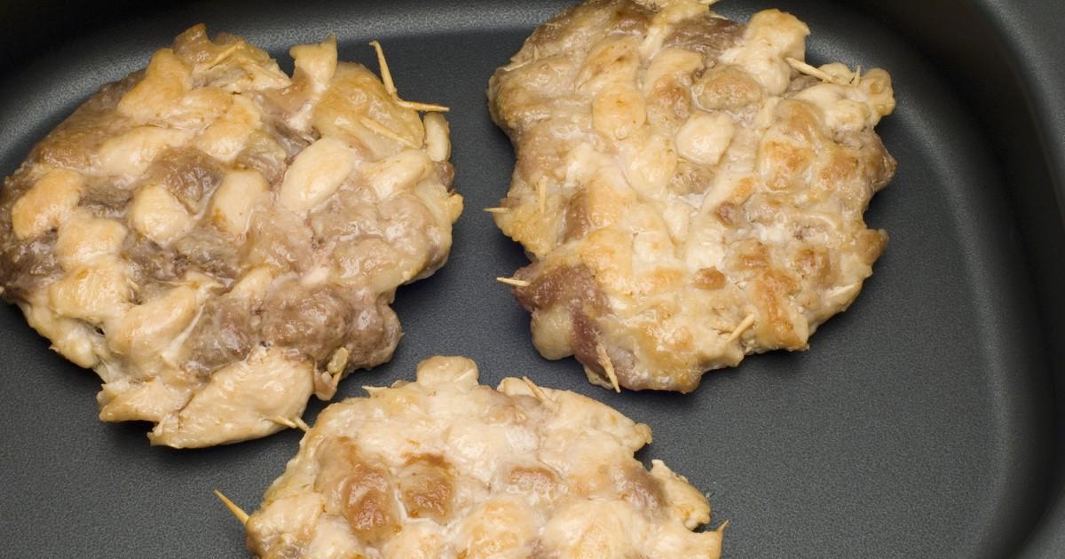Фото Рубленые котлеты из свинины и курицы