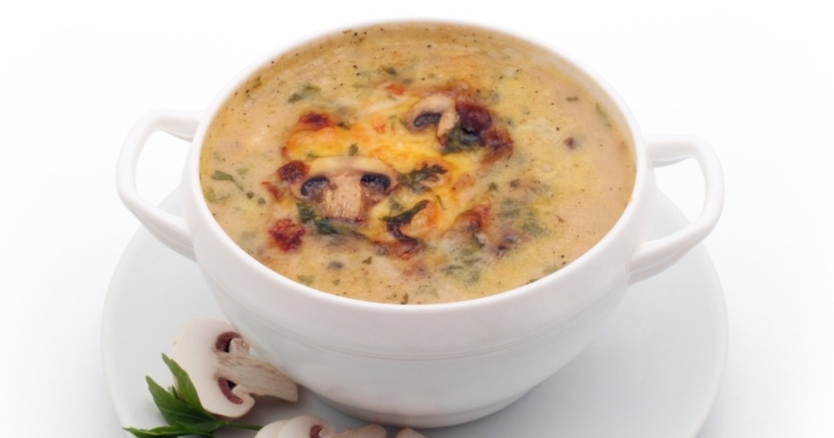 Фото Грибной сливочный суп