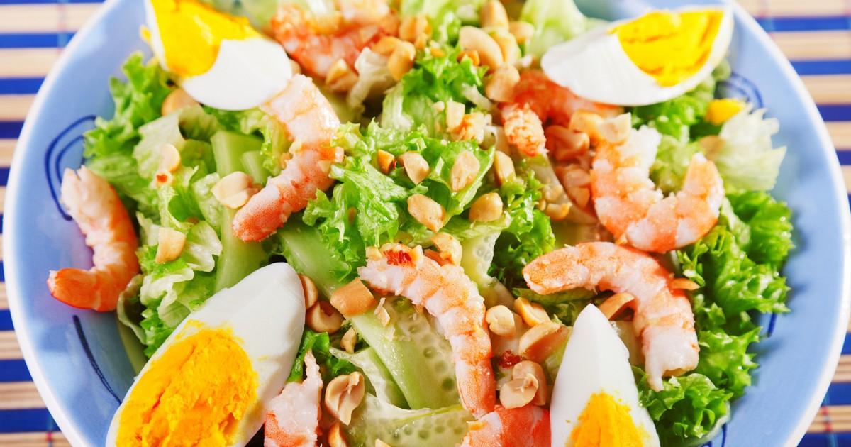 Фото Вкуснейший салат с креветками