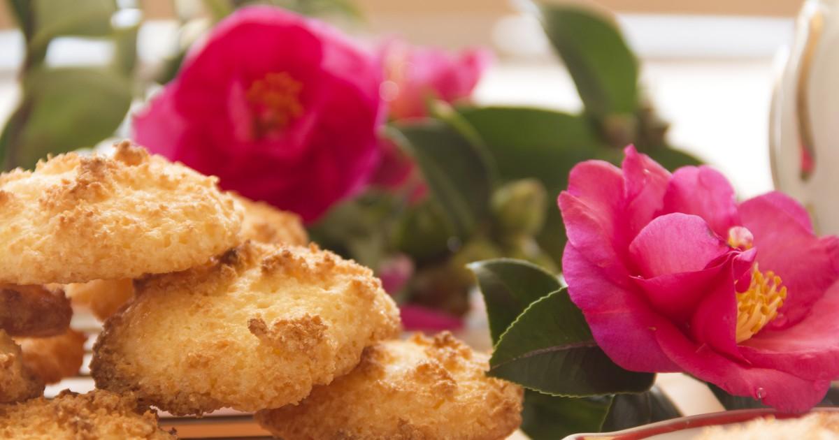Фото Нежное кокосовое печенье