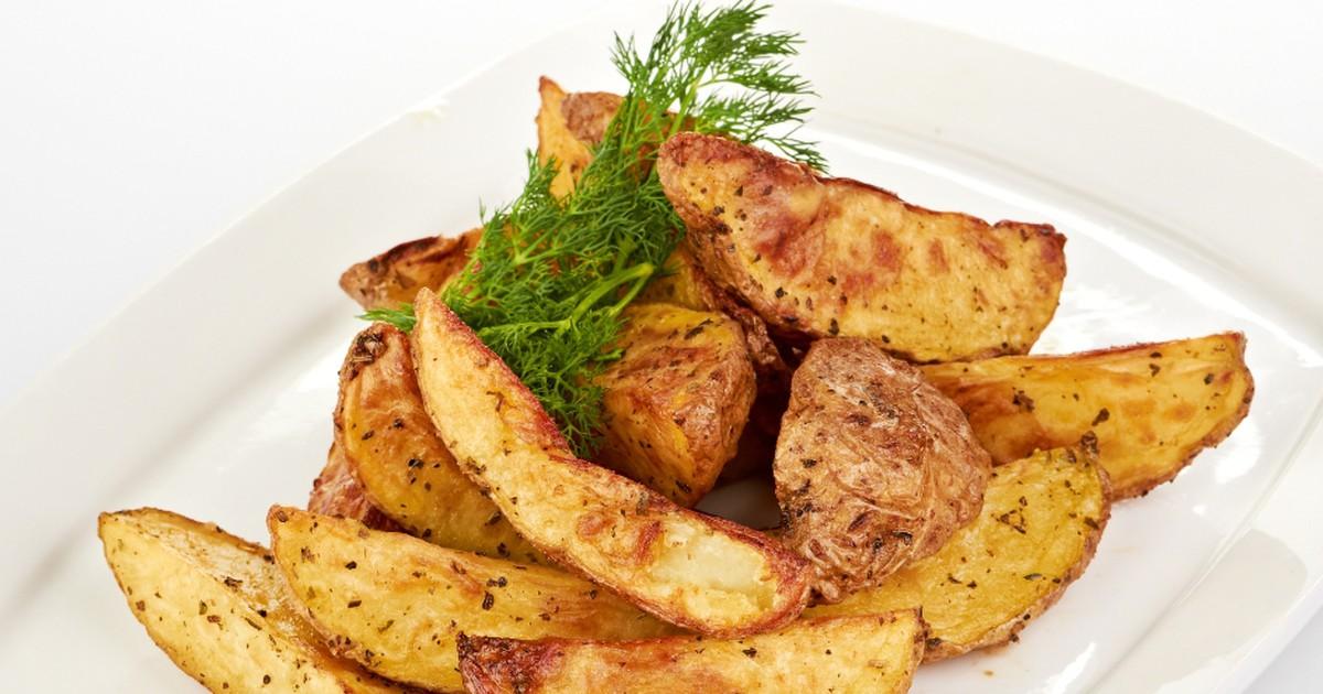 Фото Вкуснейший картофель айдахо по-домашнему