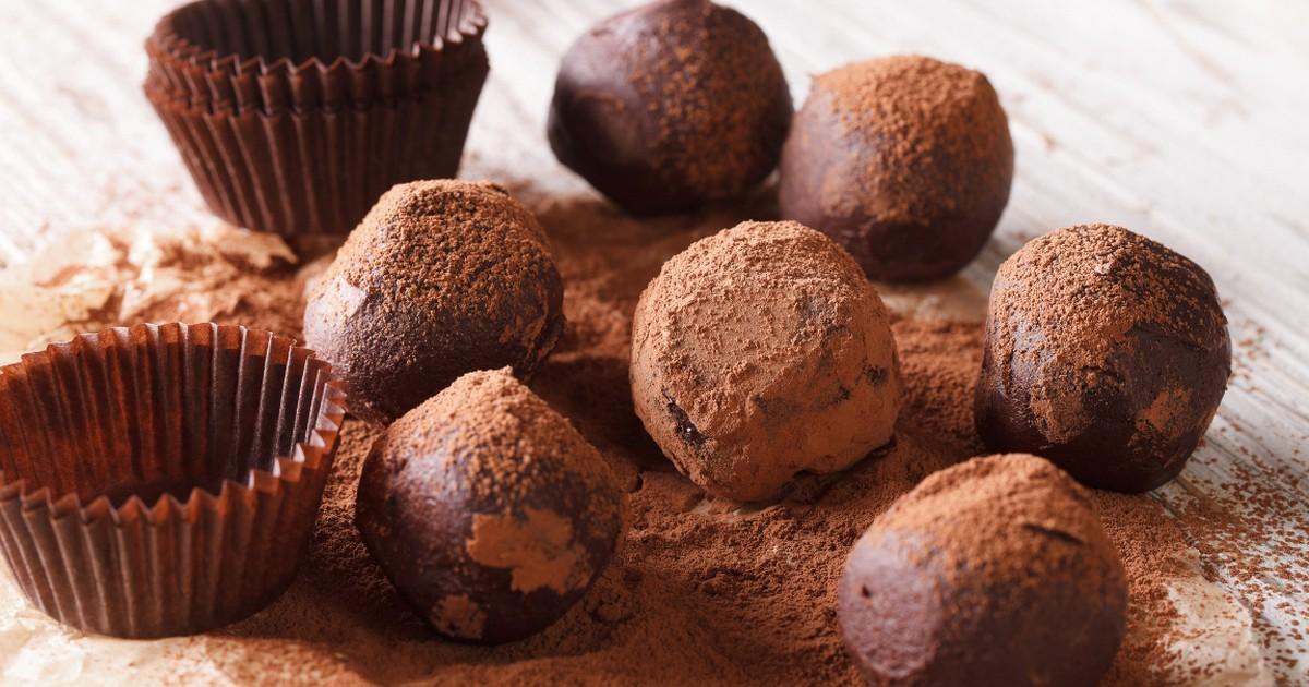 Фото Вкуснейшие шоколадные трюфели по-домашнему