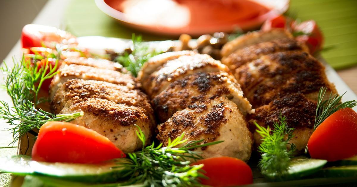 Фото Куриные котлеты с картофелем