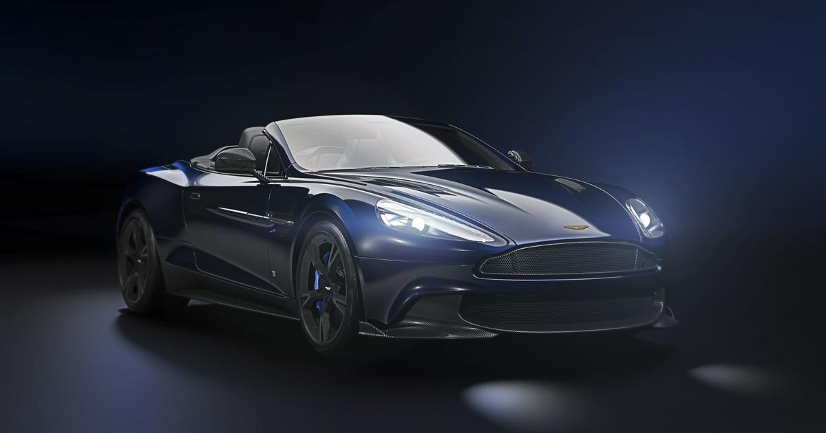 Photo of Aston Martin Vanquish S Volante Tom Brady Signature Edition