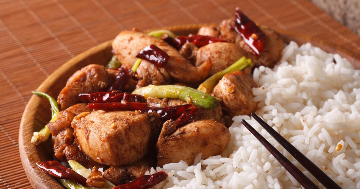Фото Курица гунбао (kung pao) – для любителей острого!