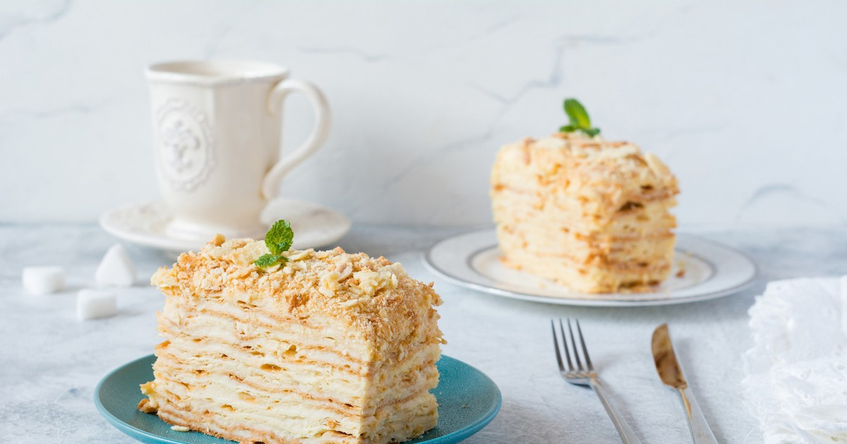 "Фото Домашний торт ""Наполеон"""