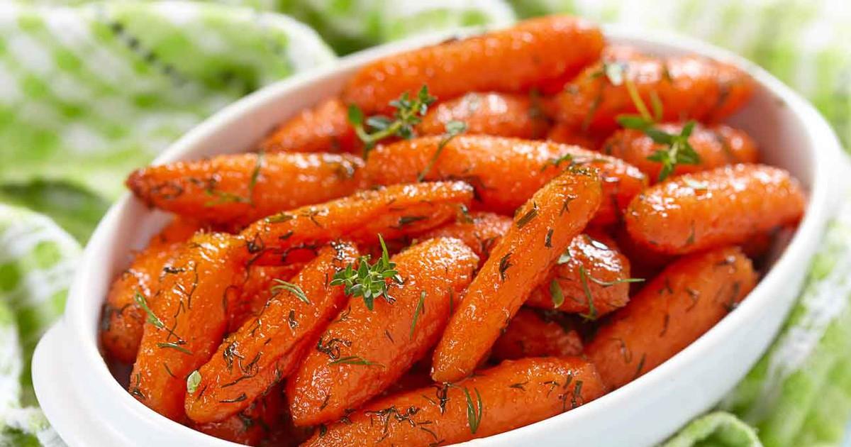 Фото Оригинальный и очень вкусный гарнир из моркови.