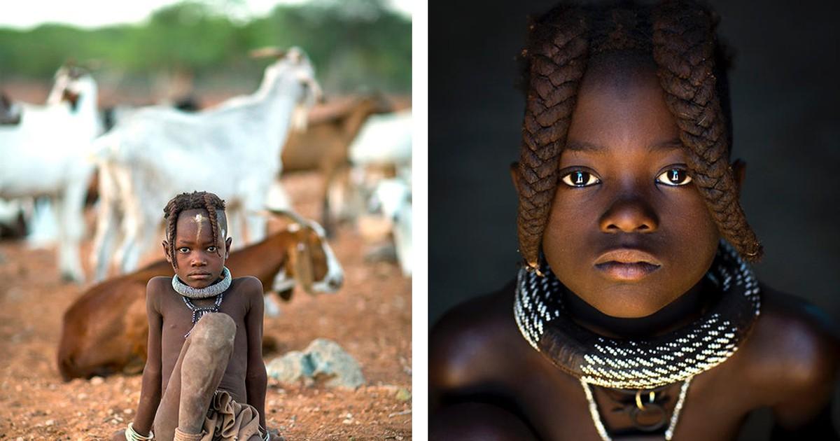 Фото Жизнь намибийских племен в фотографиях Эрика Лафорга