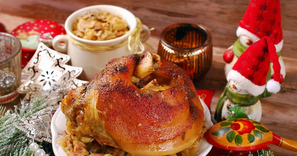 Фото Вкуснейшая свиная рулька по-польски