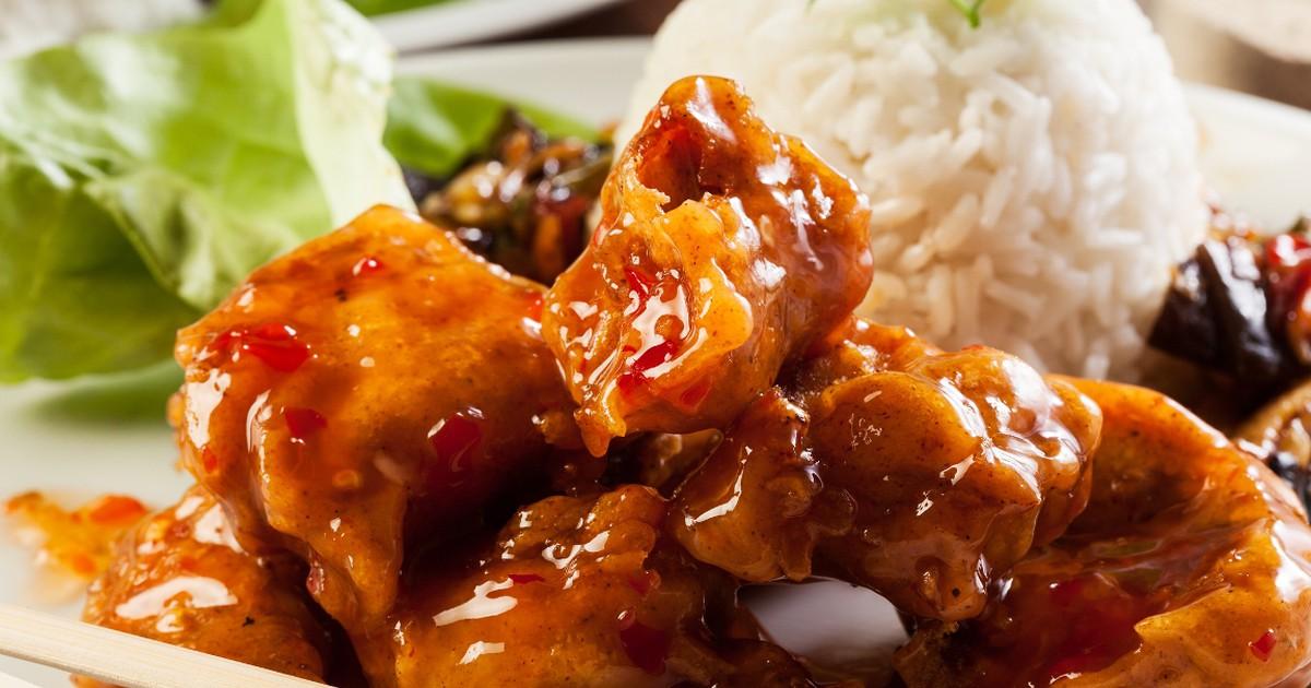 Фото Вкуснейшая курица в кисло-сладком соусе по-китайски