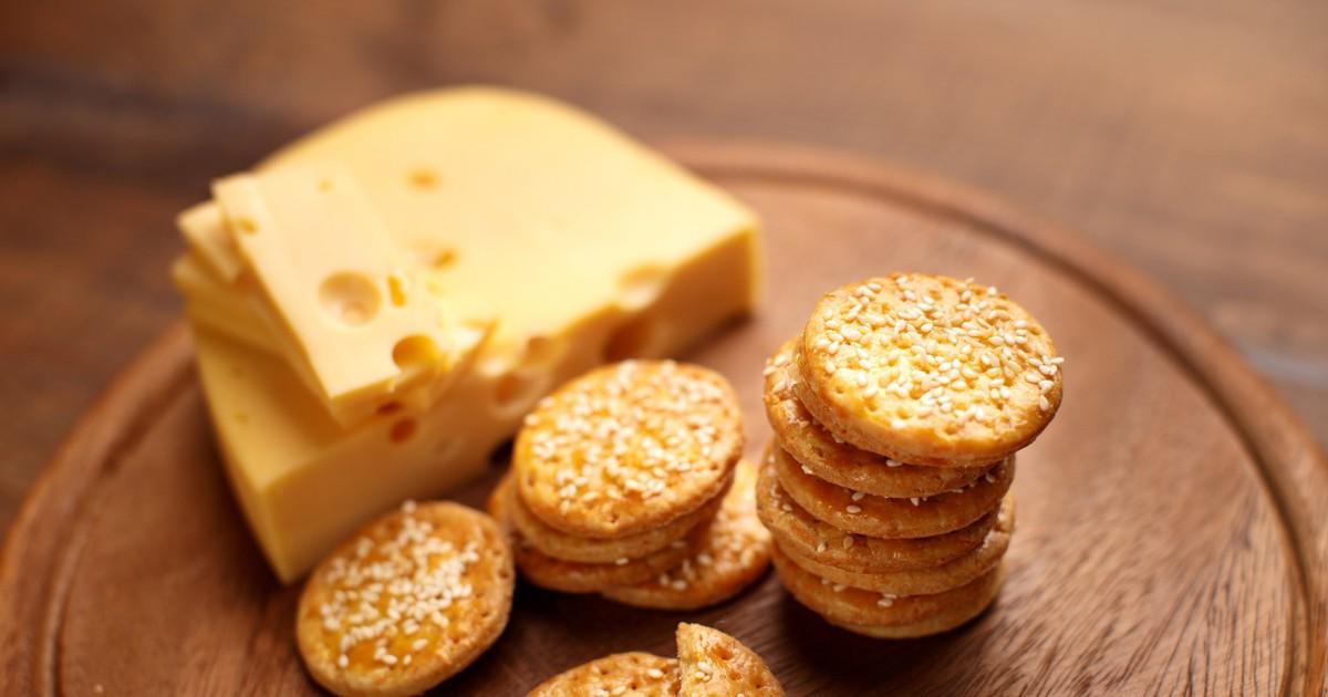 Фото Аппетитное сырное печенье