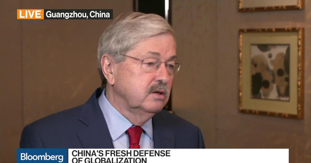 Photo of U.S. Ambassador Branstad on China, Human Rights, N. Korea