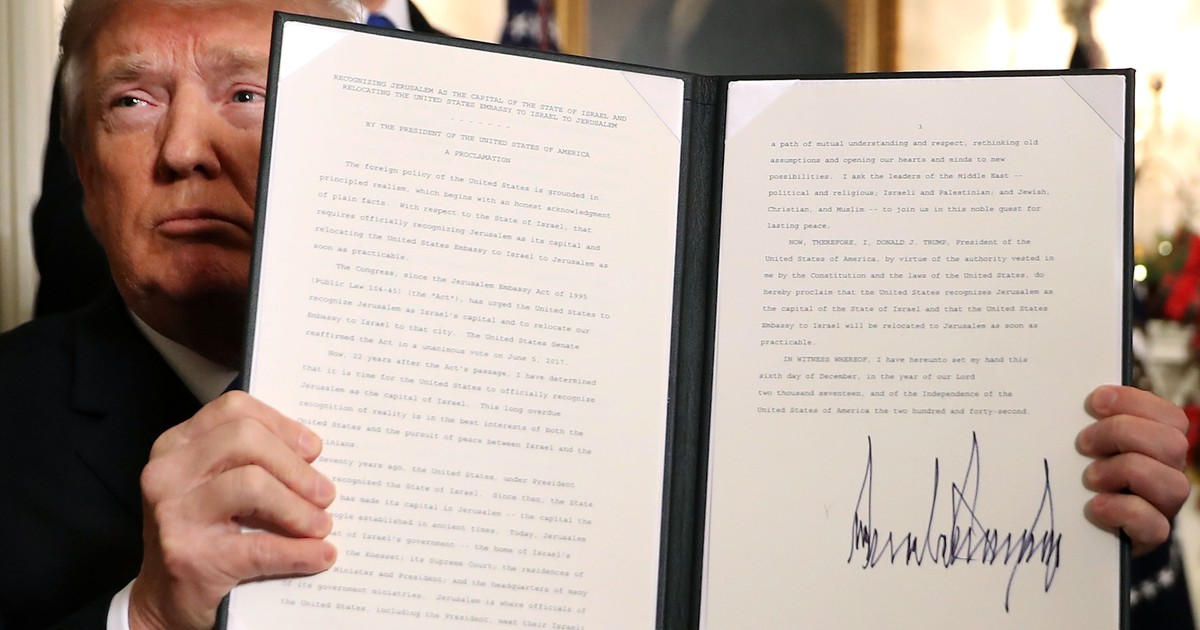 Photo of Trump's Jerusalem Policy Is More Ambiguous Than It Seems