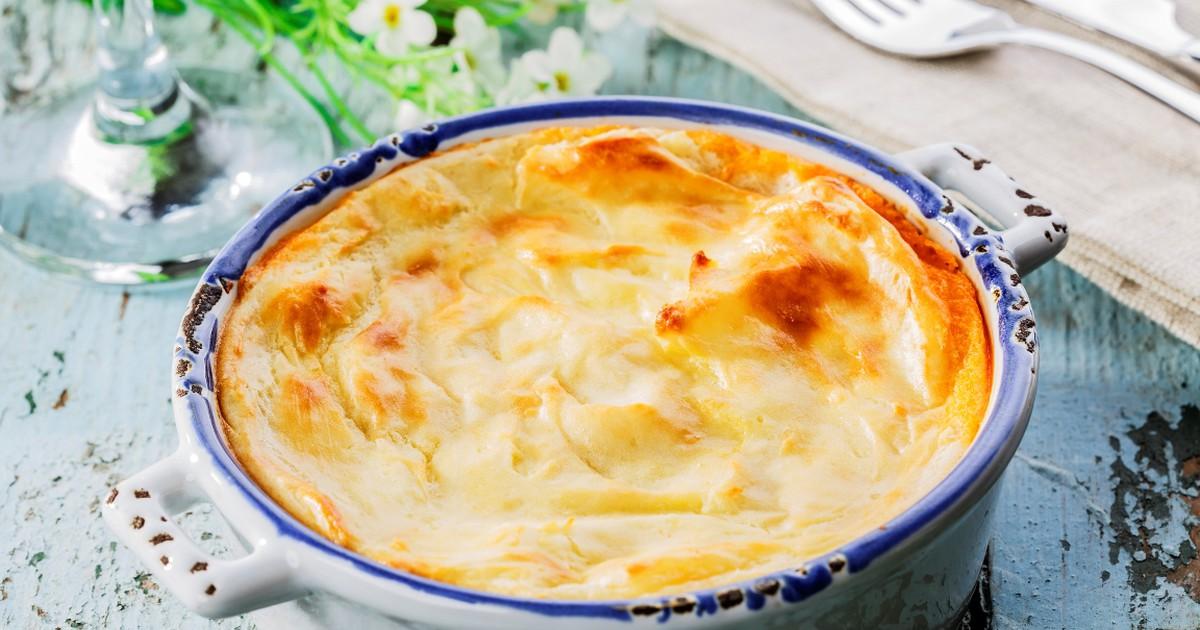 Фото Вкуснейшая картофельная запеканка с мясом
