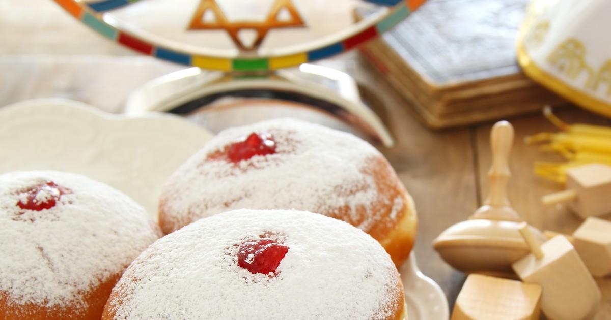 Фото Еврейские пончики Суфганиет