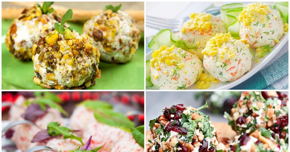 Фото Подборка рецептов самых вкусных закусочных шариков для праздничного стола