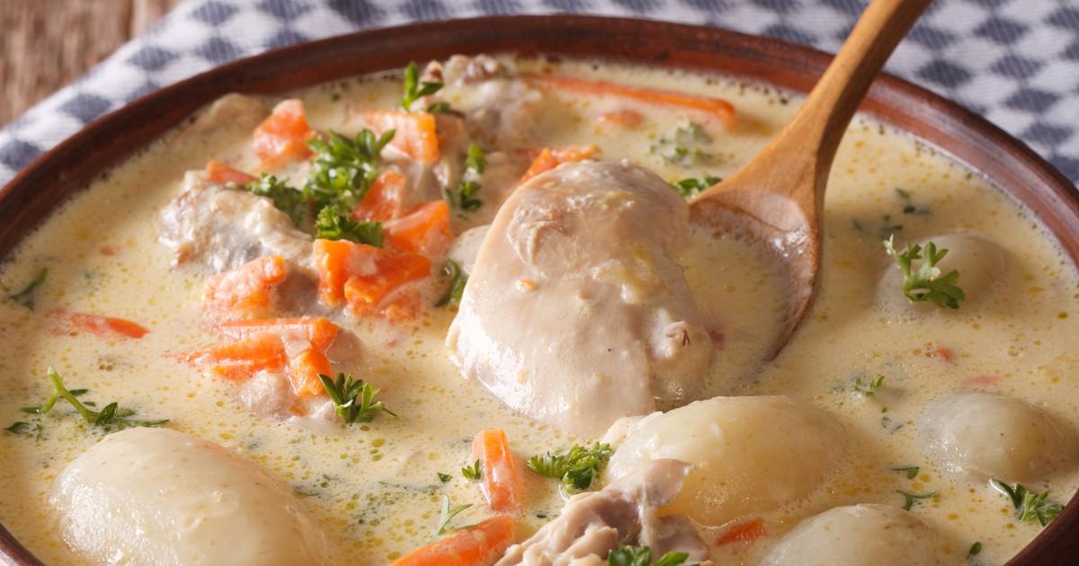 Фото Классический бельгийский суп Ватерзой