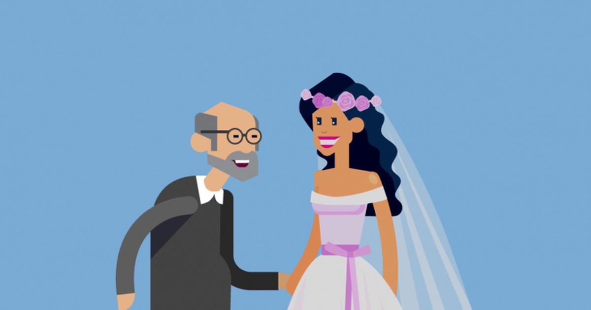 Фото Многочисленные гости празднуют свадьбу одного пожилого мужчины и его юной избранницы. В самый разгар веселья к новоиспечённому мужу подходит его друг и говорит:— Григорий Васильевич, я вас, конечно,