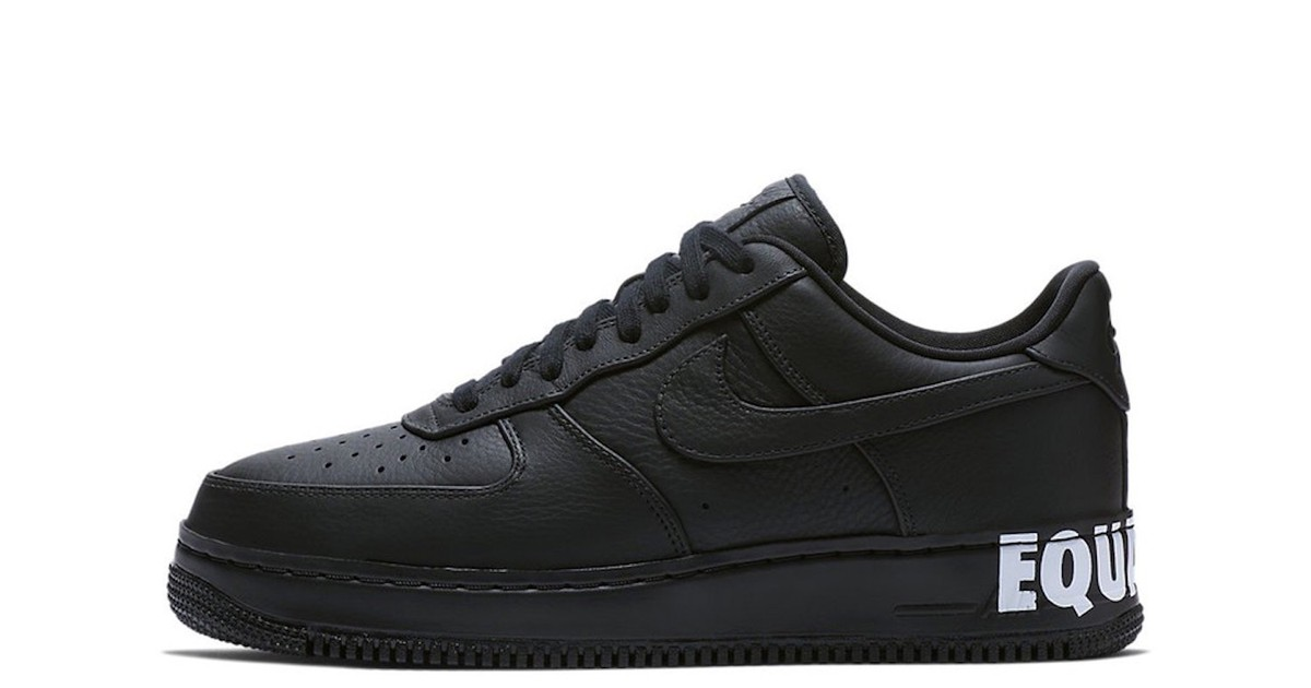 """Photo of Nike's Air Force 1 & the Air Jordan 1 Unite for """"Equality"""""""