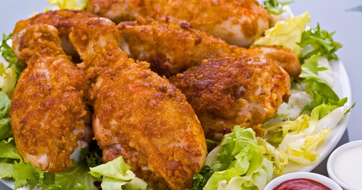 Фото Жареные куриные голени в кляре