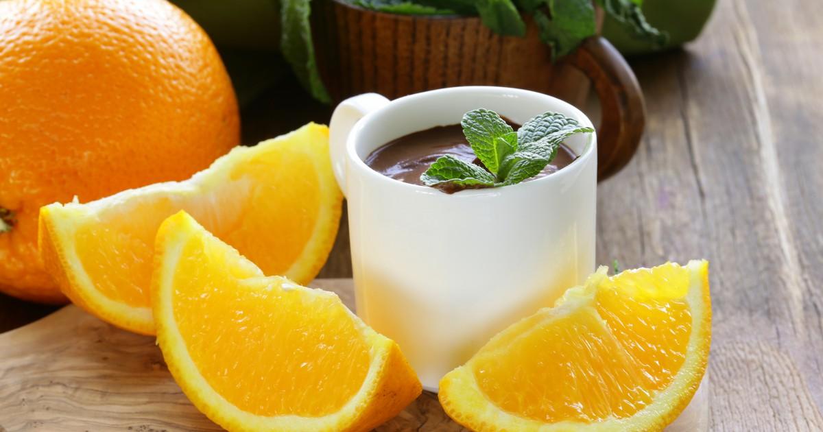 Картинки по запросу Шоколадный мусс с апельсином