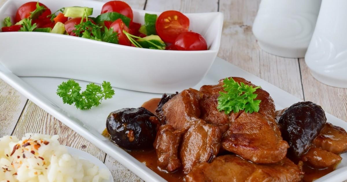 Фото Вкуснейшая говядина с черносливом