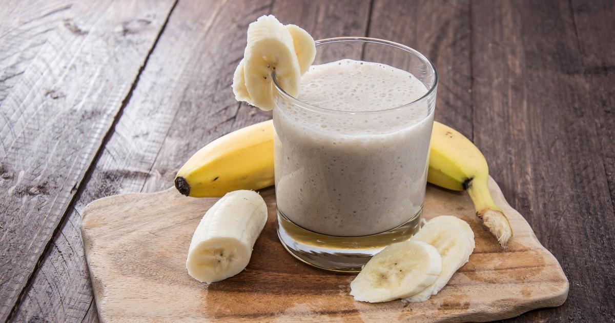 Фото Банановый шейк - это тот случай, когда не только вкусно, но и очень полезно.