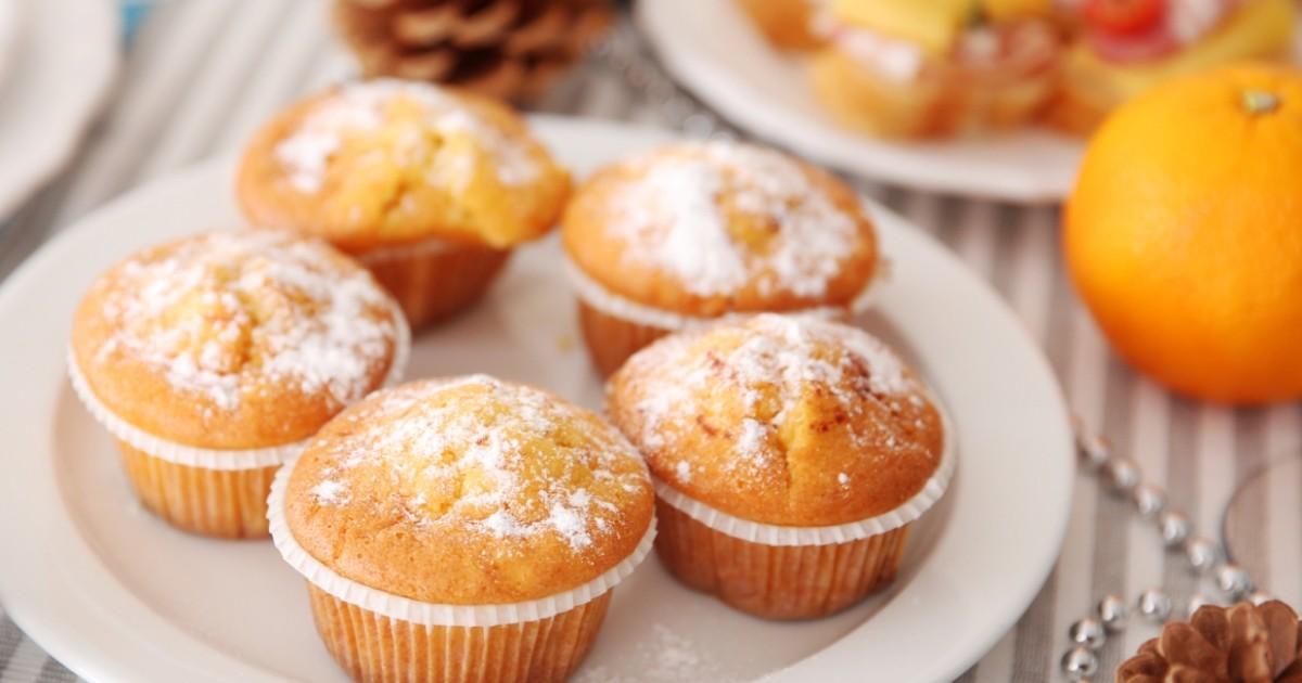 Фото Ароматные апельсиновые кексы