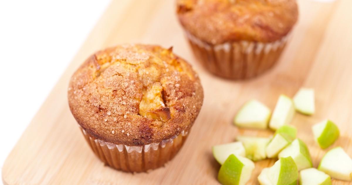 Фото Вкуснейшие яблочные кексы