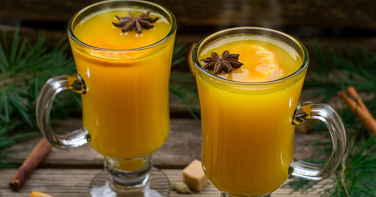 """Фото Напиток """"Горячий апельсин"""""""