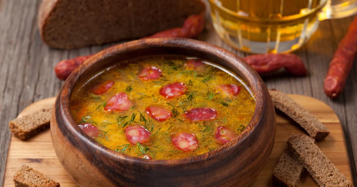 Фото Баварский пивной суп с сыром