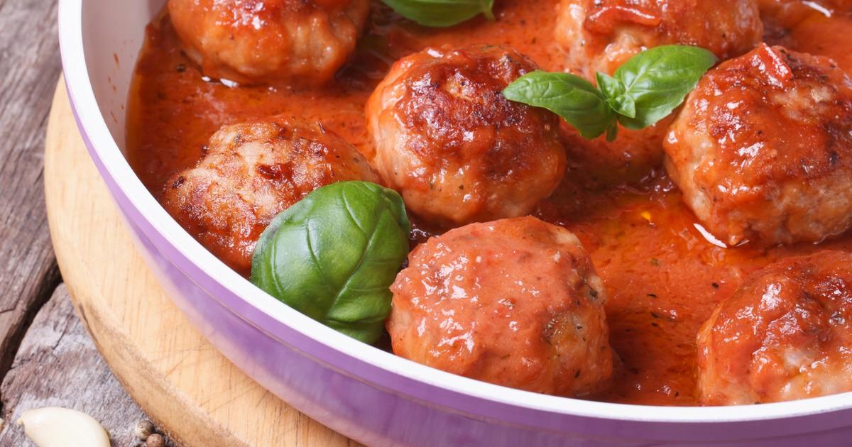 Фото Тефтели из свиного фарша в томатном соусе