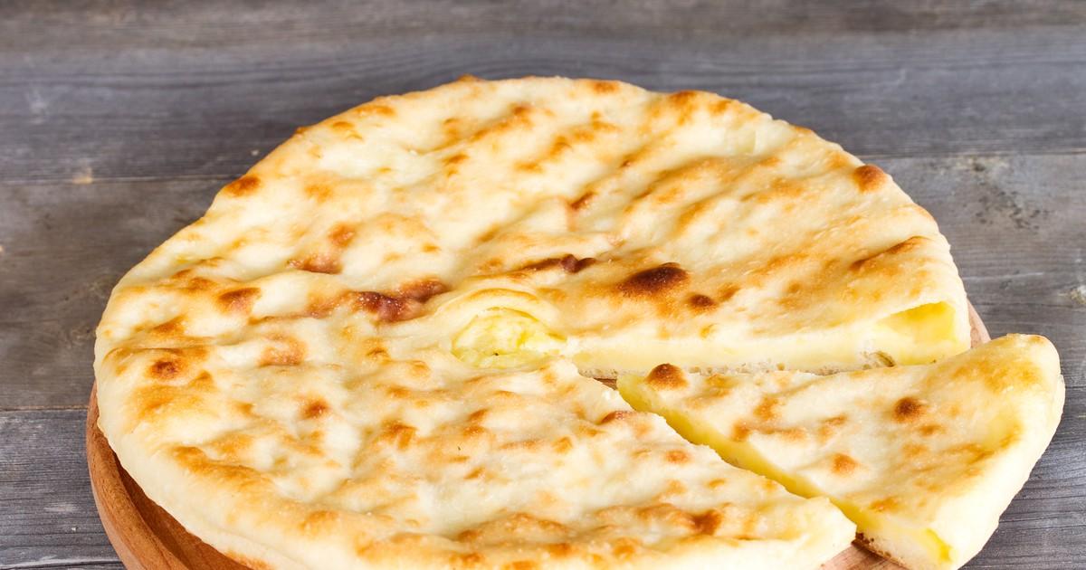 Фото Осетинский пирог с картофелем и сыром - Картофджин