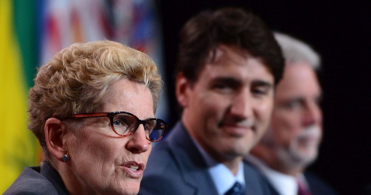 Photo of WARREN: Trudeau has copied Wynne's tactics before — he may do it again
