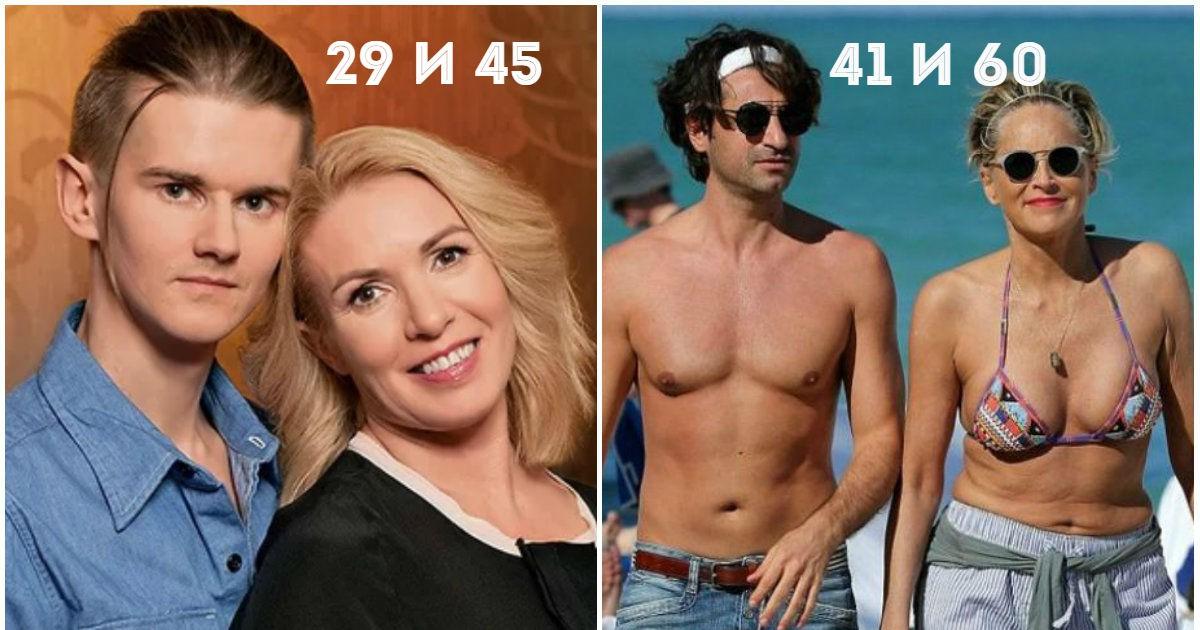 Фото Он на 30 лет младше. Звездные женщины и их юные любовники (26 ФОТО)