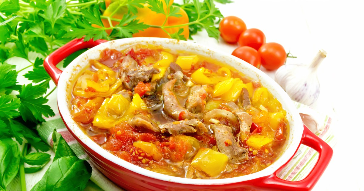 Фото Овощное рагу с мясом