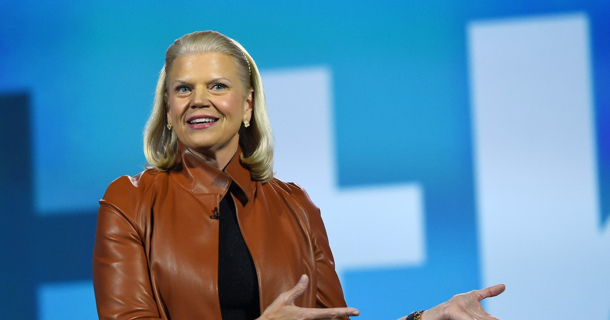 Photo of IBM CEO Ginny Rometty Tries to Keep the Modest Momentum Going