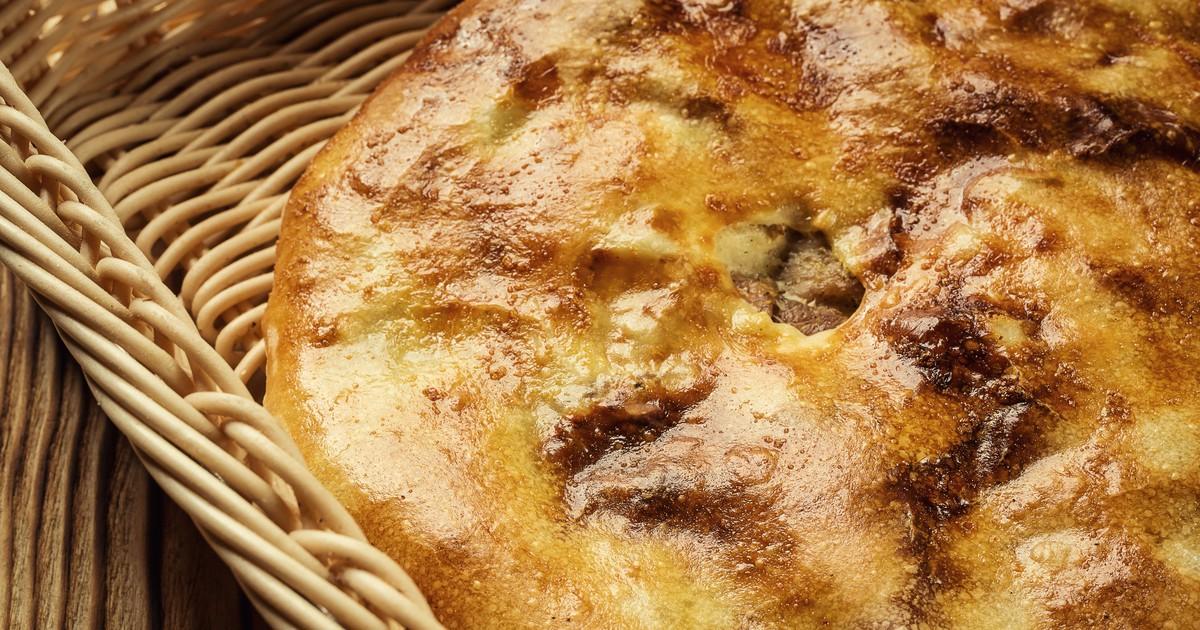 Фото Кубдари – грузинские пироги с мясом