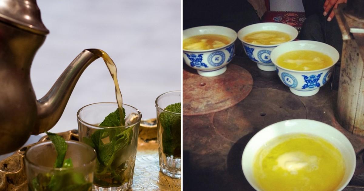 Фото Как пьют чай различные народы мира