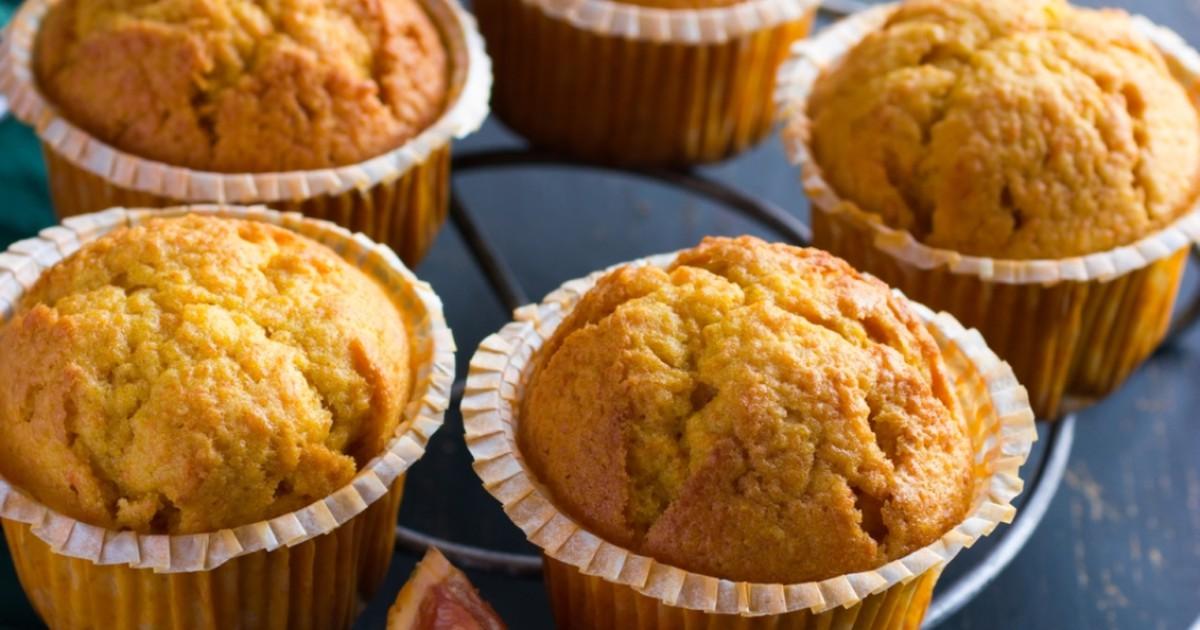 Фото Медовые кексы с апельсином