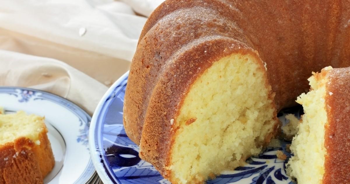 Фото Аппетитный пирог с лимоном
