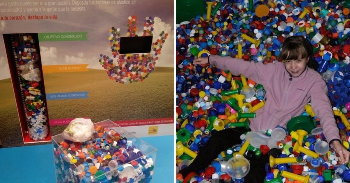 Фото Спасая жизни: зачем жители Испании активно собирают пластиковые крышки