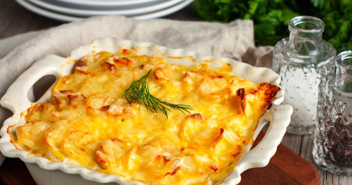 Фото Аппетитная картофельная запеканка с рыбой