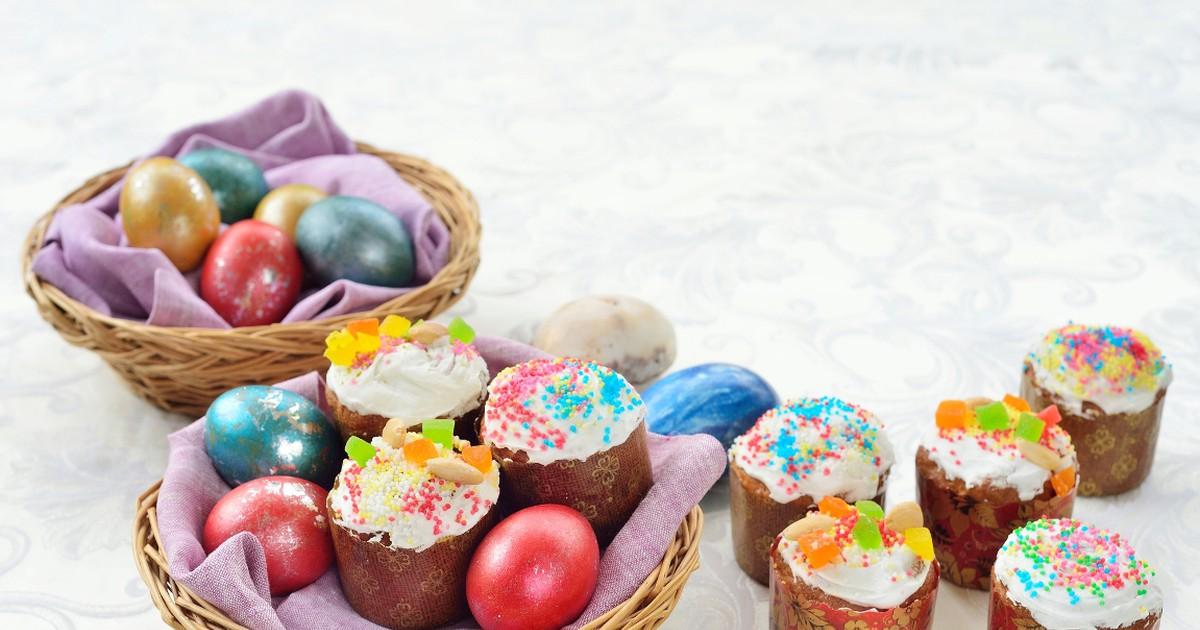 Фото Праздничные творожные куличики