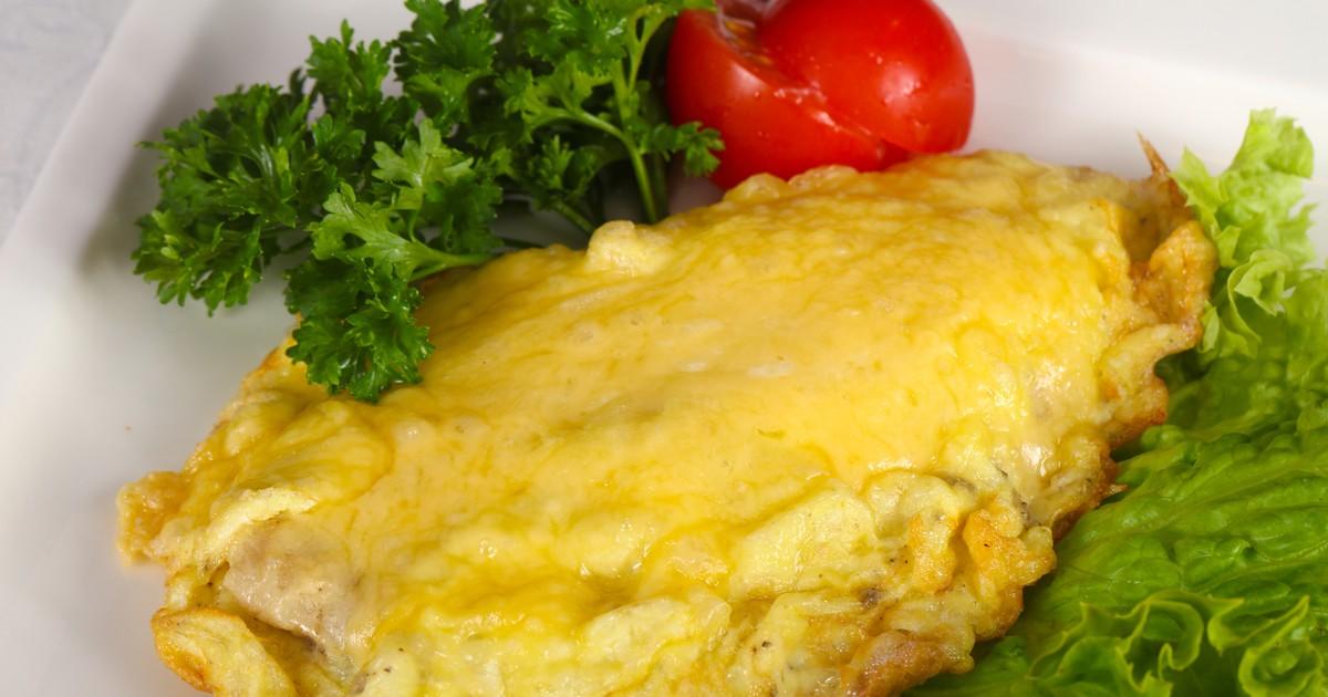 Фото Куриное филе в сырном кляре