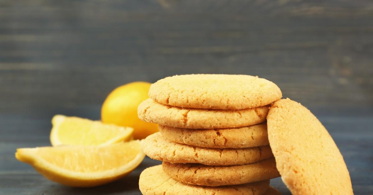 Фото Любимое лимонное печенье
