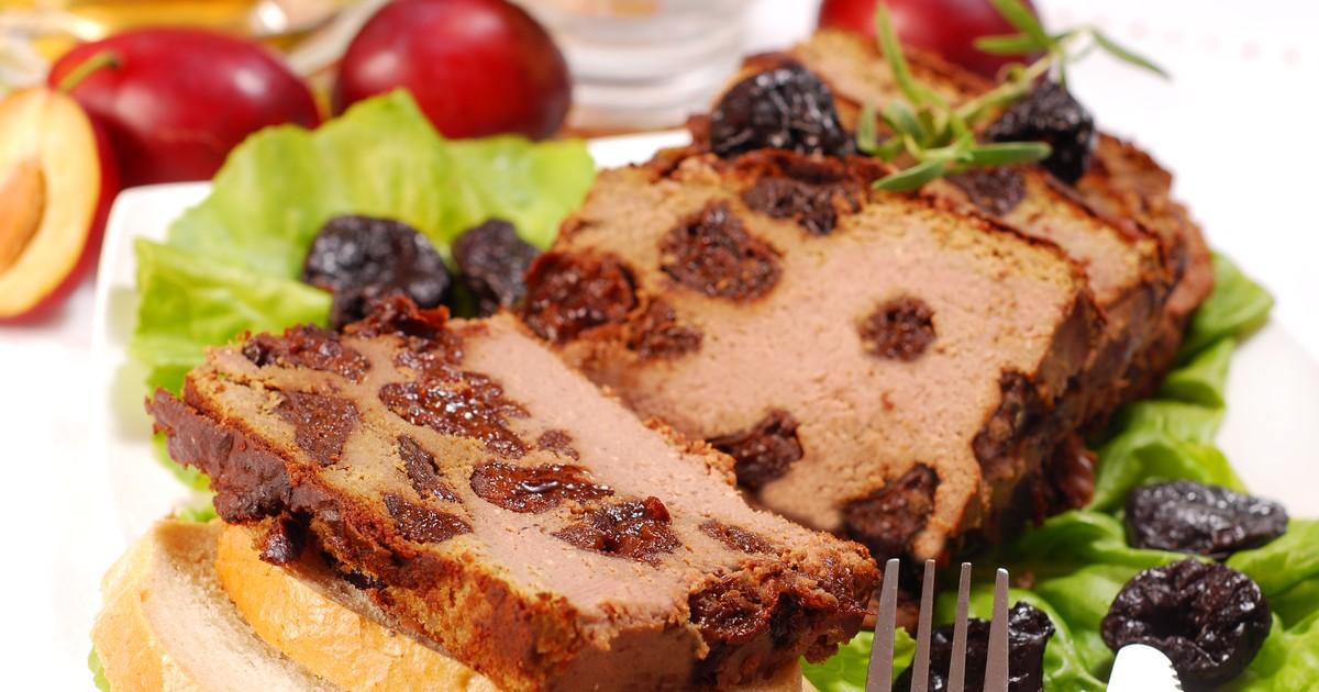 Фото Печёночный паштет с черносливом