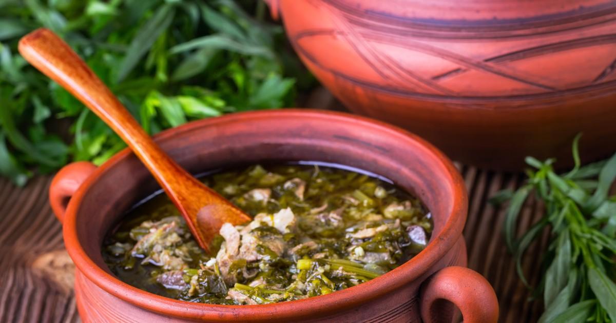 Фото Чакапули из баранины – легендарное весеннее блюдо!